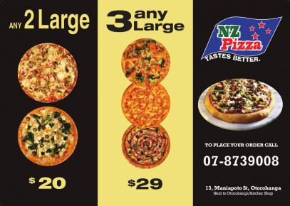 Pizza deals in Otorohanga